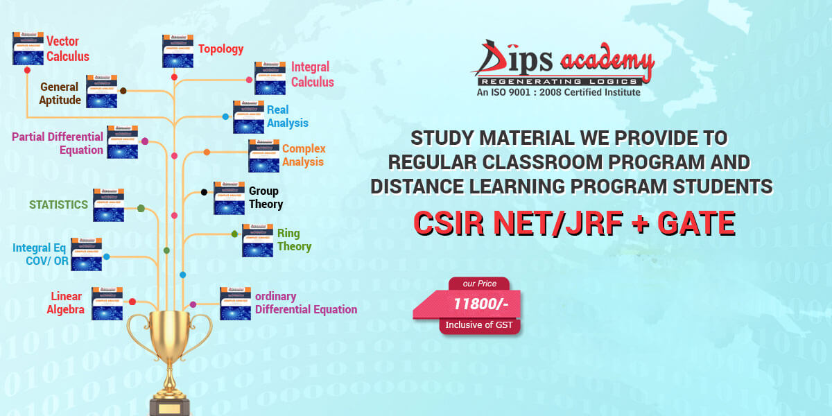 CSIR NET/JRF Study Material For Mathematics | Coaching Notes