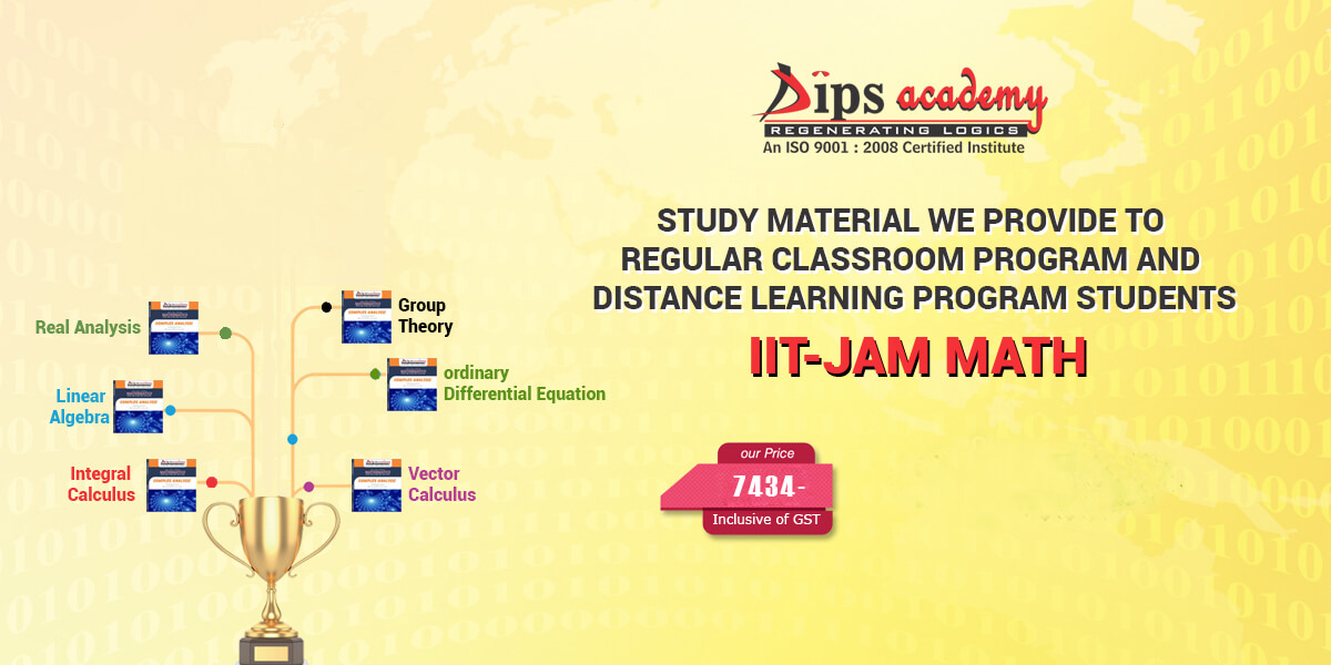 IIT JAM Maths Study Material With Free Solved Previous Year