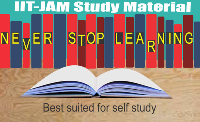 IIT JAM Maths Study Material With offer for limited period